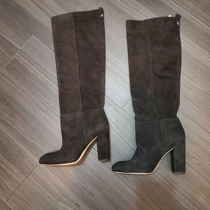 New! Sam Edelman Tall Black Leather Boots